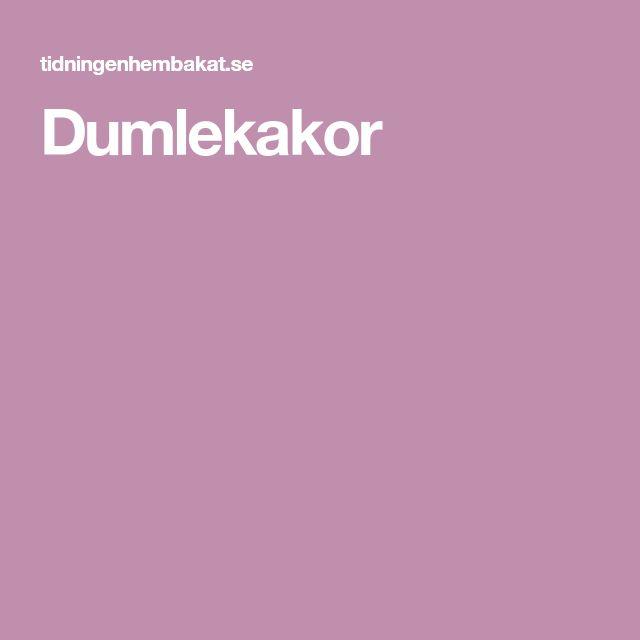 Dumlekakor