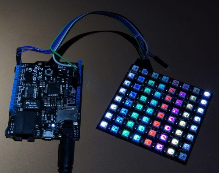 Netduino with Neopixels