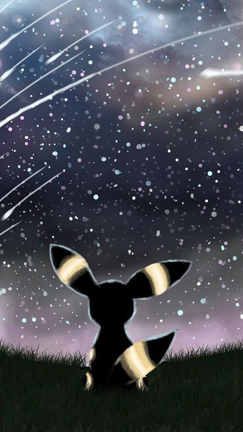 iphone wallpaper, pokemon, and umbreon Bild
