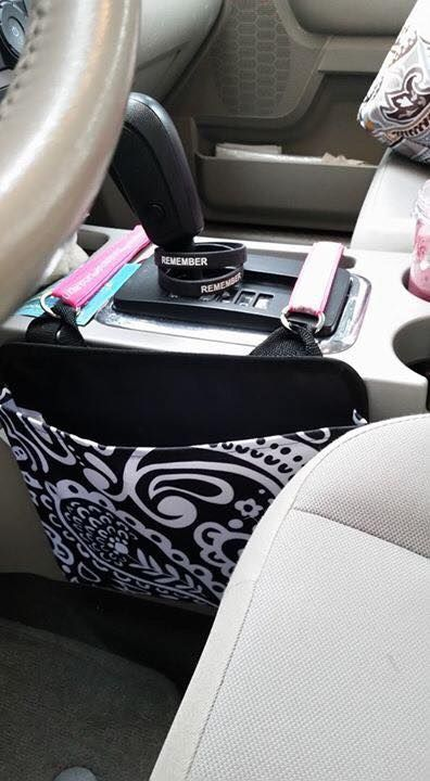 Great use for Oh Snap Pockets and Key Fobs!                                                                                                                                                                                 More