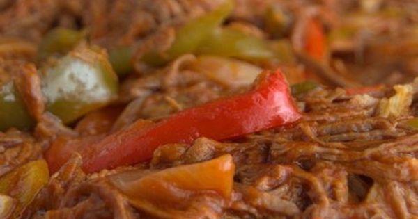 Aprende a preparar la ropa vieja con esta auténtica receta cubana. | carné de res | Pinterest | Ropa vieja