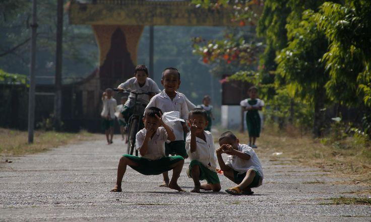 Joyful Kids in Kayin State