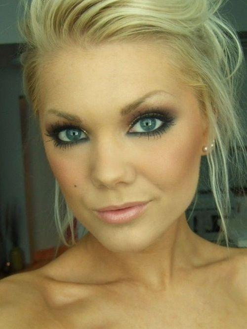 Best Wedding Makeup For Blondes : Wedding Eye Makeup for Blue Eyes Wedding, Finals and ...
