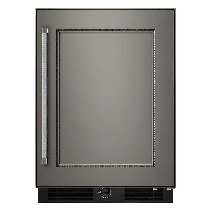 Kitchenaid 49 cu ft undercounter refrigerator in panel