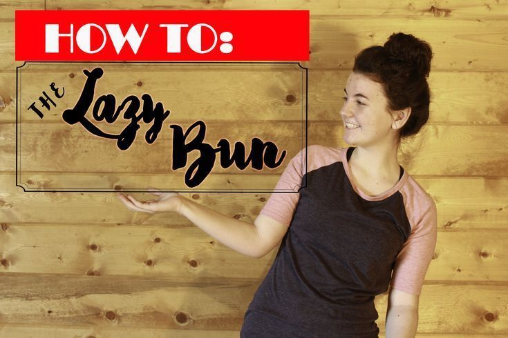 how to: the Lazy Bun How I as a blogger style my hair almost every day in my busy life #blog #blogger #hair #hairstyle #haircare
