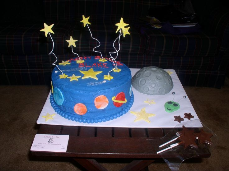 43 best images about boys stuff on pinterest the planets for Outer space cake design