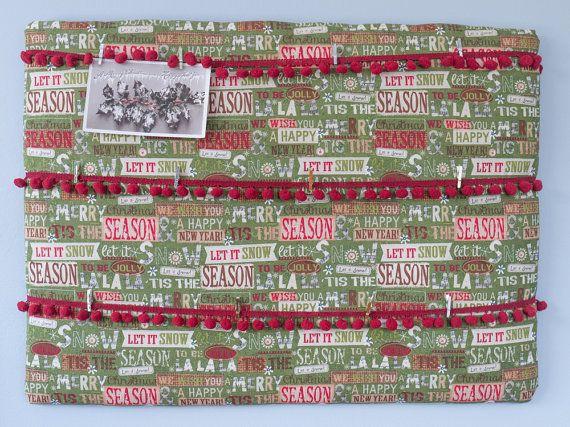 Handmade Christmas holiday season green and red by freshdarling