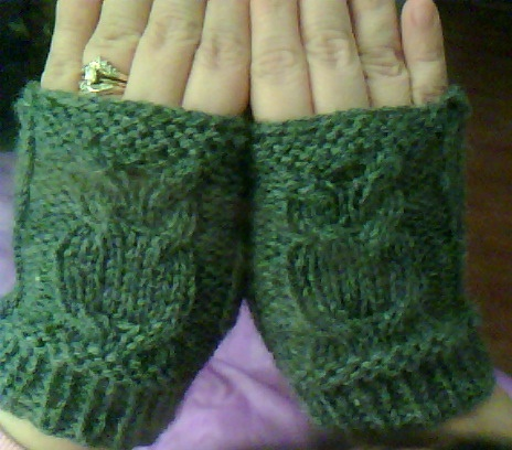 Free Crochet Pattern For Owl Hand Warmers : owl wristers - really? Tricot / Knit Pinterest ...