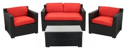 patio furniture sets furniture sets and outdoor patios on pinterest black outdoor furniture