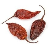Dried Whole Ghost Chile (Bhut Jolokia) 15 Gram (13-15 Count)