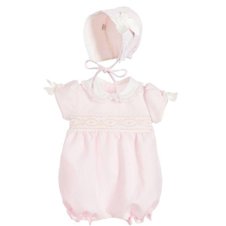 Pretty Originals Girls Pink Shortie & Hat Set at Childrensalon.com