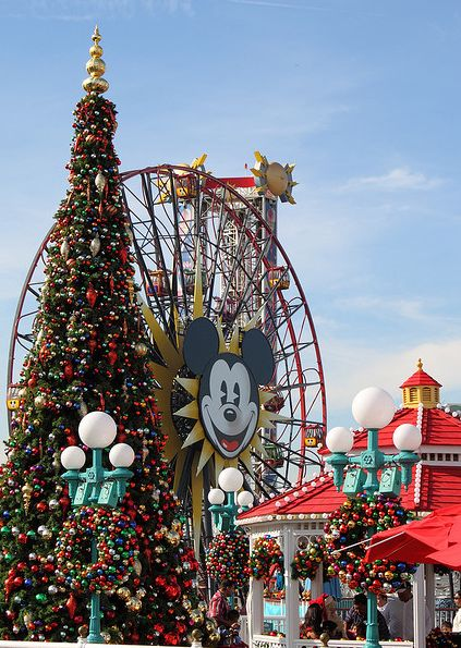 Christmas at Disney's California Adventure