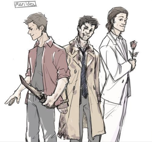 Evil Team Free Will - Deanmon, Leviathan Cas and Samifer.