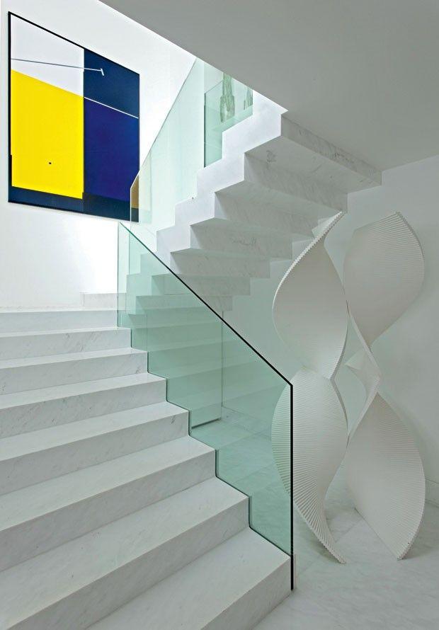 escalera, São Paulo, arquiteto Roberto Migotto