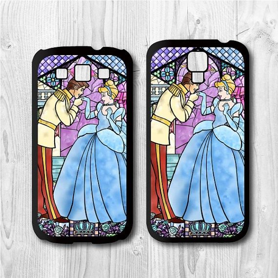 case for Samsung for Galaxy for s4, case for Galaxy for s3 - D Princess Cinderella - Galaxy Cover for s4, Galaxy Cover for s3, Hard case / Rubber case - Handmade Cases for iPhone 4/4S/5s/5c/iPad/iPad mini/Samsung Galaxy S3/S4/Note 2/Note 3