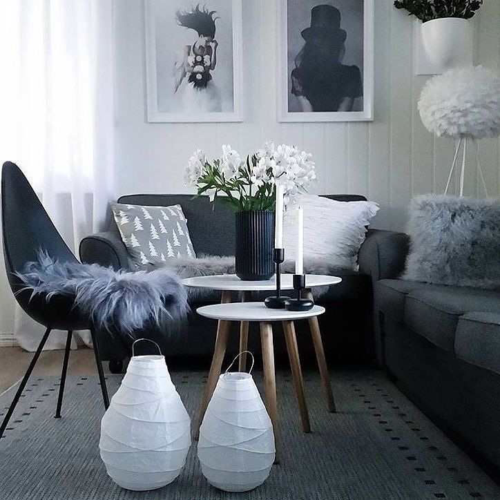 A warm moody living room for those relaxing moments we all love and need. Stunning space via @livkrols .... .... We also love how beautiful the Tove Frank 'Pocus' poster looks here - available online