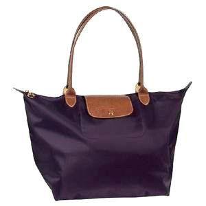 Longchamp Le Pliage Large Tote Bags Purple