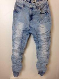 Baggy jeans low crotch met elastieke band | Broeken / catsuits / jogging pak | ladies fashion yess-style