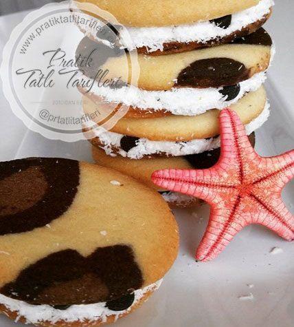 Çocukların çok seveceği görüntüsüyle de güzel olan Damla çikolatalı Leoparlı kurabiye sevenlerine gelsin.