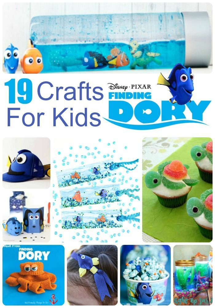 807 best images about party decorating ideas on pinterest for Finding dory crafts for preschoolers
