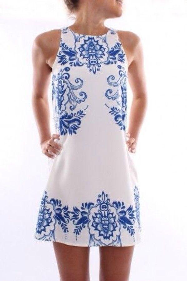 1000  ideas about Preppy Dresses on Pinterest - White graduation ...
