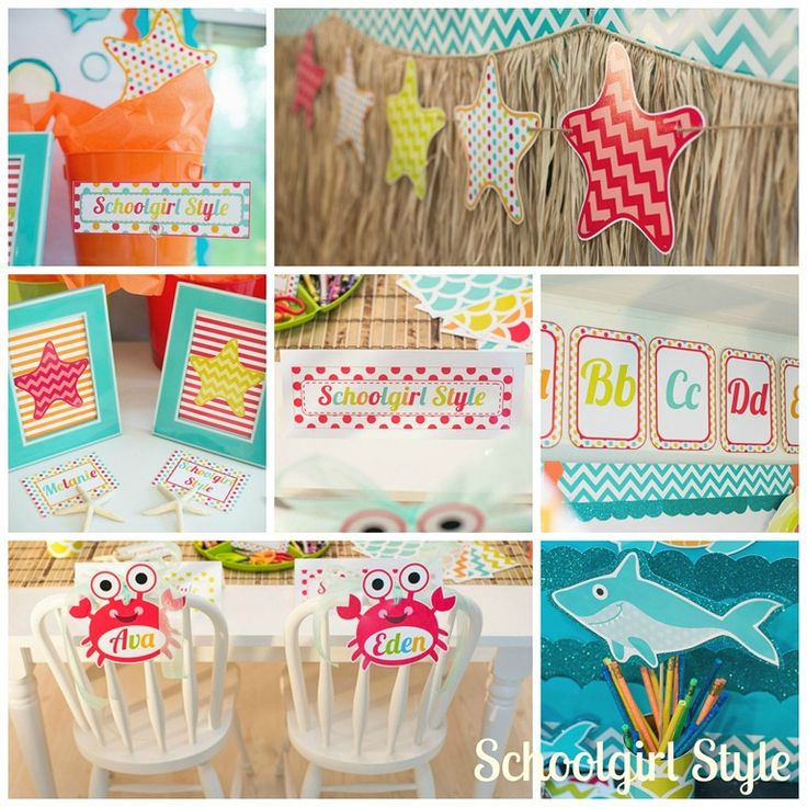 Ocean Decoration For Classroom : Best fish theme images on pinterest classroom themes