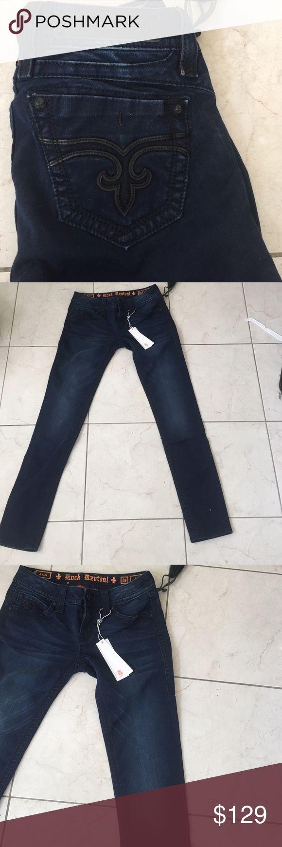 Rock revival Adele skinny women jeans 28 New Rock revival Jeans Skinny