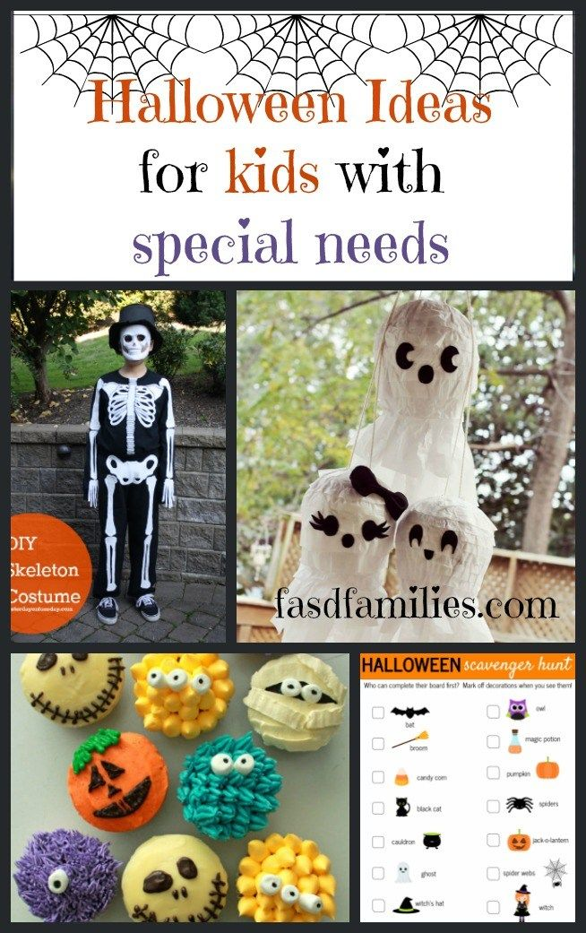 Halloween Ideas for Kids with FASD and Other Special Needs- Candy free, trick or treating alternatives || easy costumes for sensory overload || Halloween and special needs kids || Alternatives to trick or treating