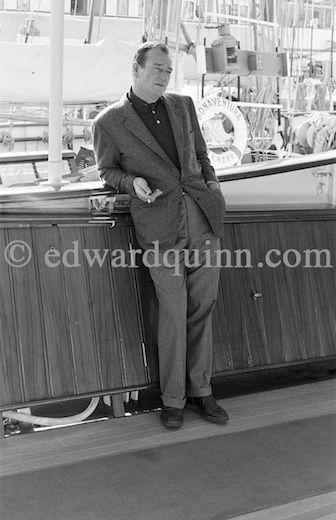 Aristotle Onassis' Yacht Christina photographed by Edward Quinn. © edwardquinn.com