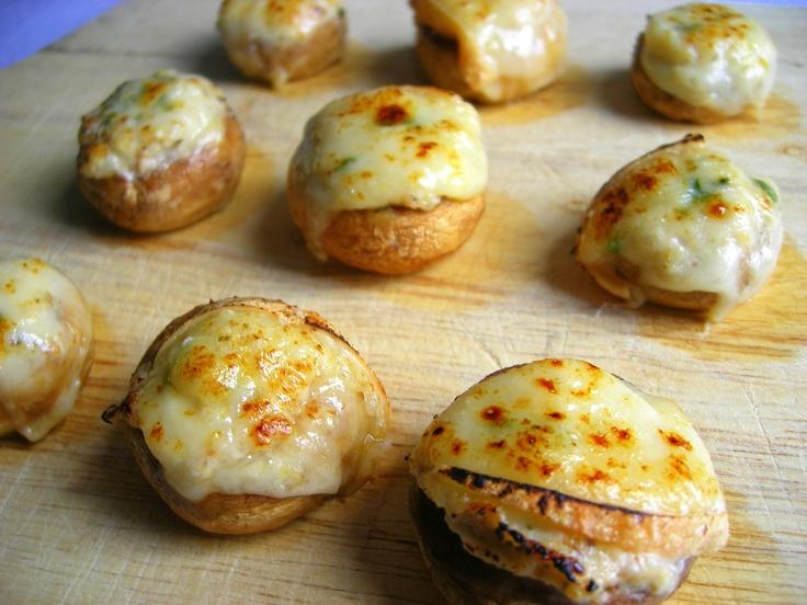 Champignon farcis aux fromages