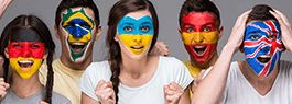 Add Flag on your face using picture editor online