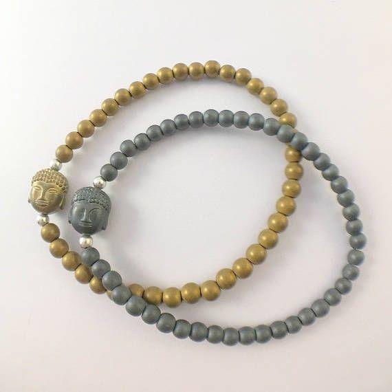 Mystic bracelet with buddha de PazGabriel en Etsy