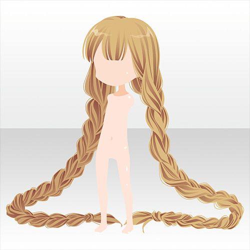 Картинки аниме прически коса