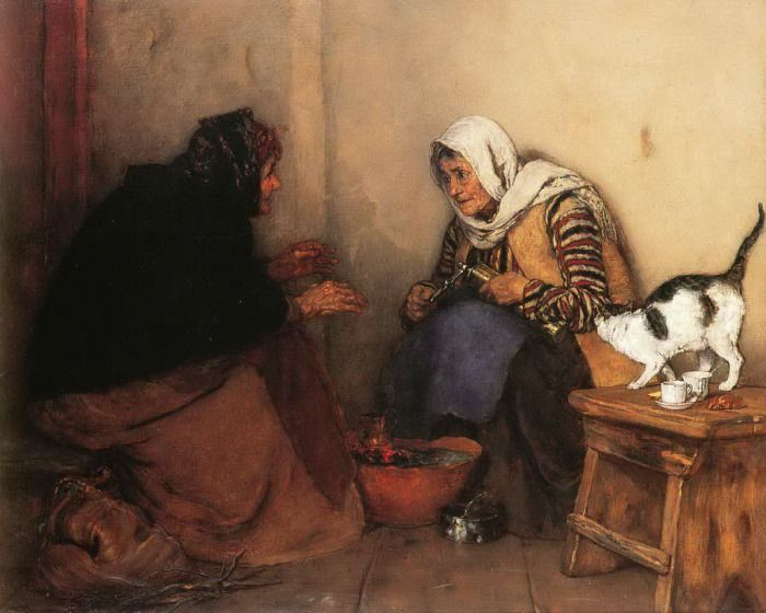.:. Γύζης Νικόλαος – Gyzis Nikolaos [1842-1901] Οι γειτόνισσες