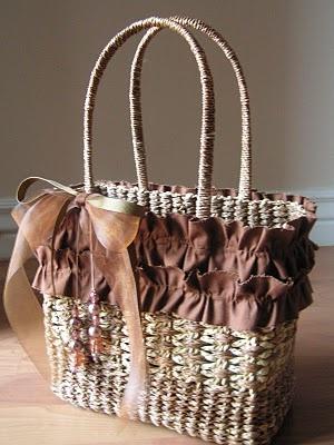 Basket embellishment