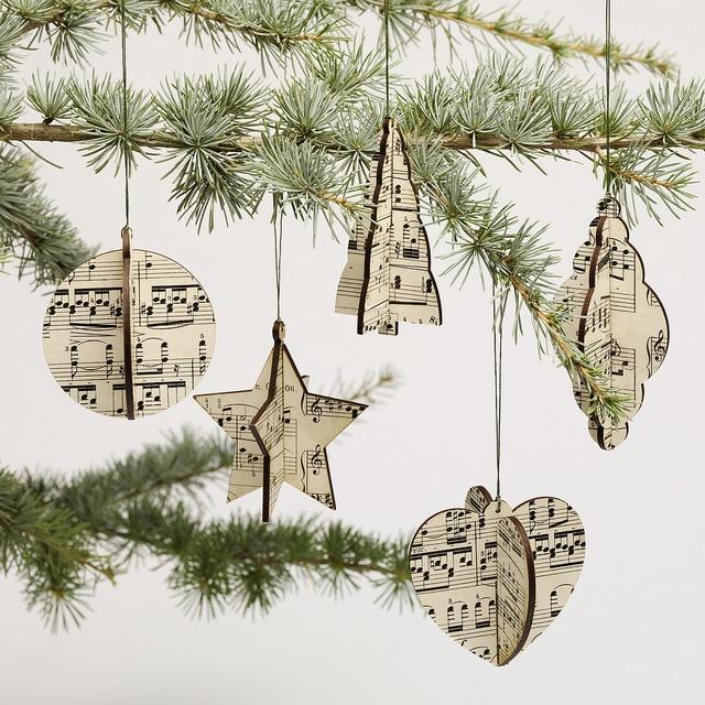 Music decorations | Music_Crafts | Christmas, Christmas decorations, Christmas  tree decorations - Music Decorations Music_Crafts Christmas, Christmas Decorations