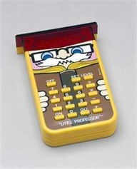 It's the Lil' Professor!! :) I always wants one of these...remember these??