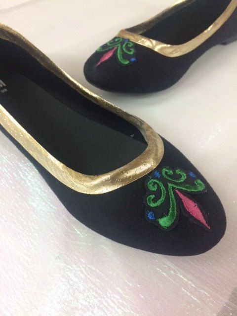 Lead time is 1-2 weeks for shoes    Anna and Elsa coronation shoes are available in a variety of sizes! Shoes are comfortable ballet flats and