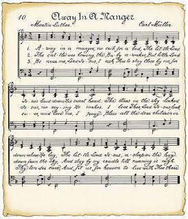 printable Christmas music sheets