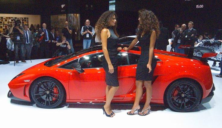 Lamborghini at the Francfort Motorshow 2011
