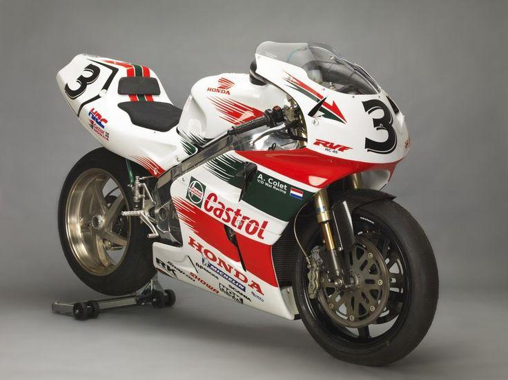 Honda RC45 HRC Classic racebike in Cars, Motorcycles & Vehicles, Motorcycles & Scooters, Honda   eBay