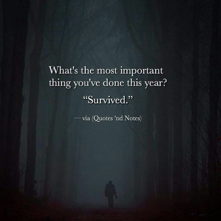 """What's the most important thing you've done this year? """"survived. """" • Linda ♡ Forever 28 •"""