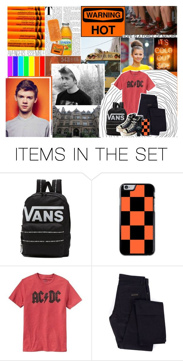 """""""First Day ♦ Axel Anthony Stark"""" by wannabefamous212 ❤ liked on Polyvore featuring art, OC, ThomasBrodieSangster and MOUAWD"""