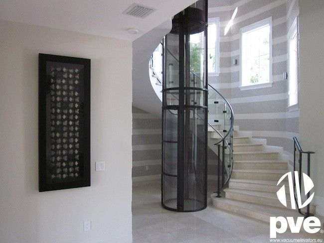 round residential elevator 173 best ascenseur monte personne images on pinterest stairs