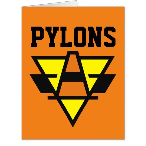 #Pylons sports logo Father's Day card. #FathersDay