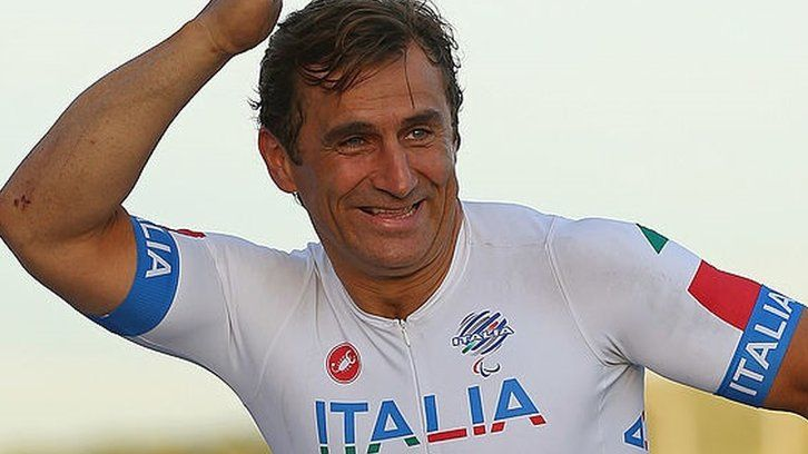 Ex-F1 driver Zanardi wins gold 15 years after losing legs in crash    Alex Zanardi wins a Paralympic gold medal on the eve of the 15-year anniversary of when he lost his legs in a motorsport crash.   http://www.bbc.co.uk/sport/disability-sport/37368133