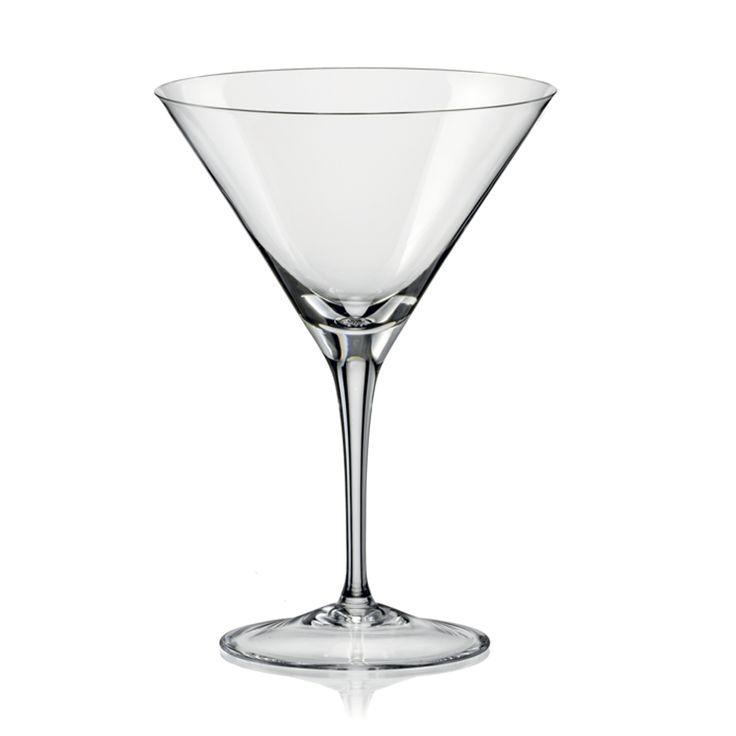 Martiniglas - Find krystalglas til enhver anledning. Køb rødvinsglas, hvidvinsglas, champagneglas og drikkeglas hos Roba. Find gode priser på krystalglas