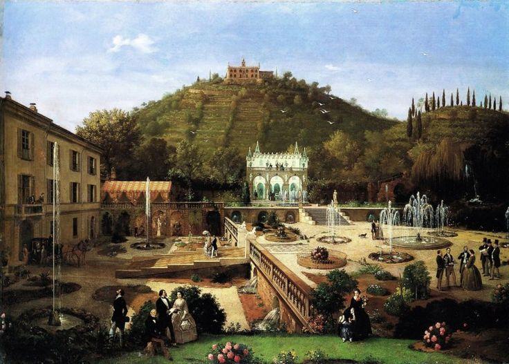 La Villa Richiedei a Gussago presso Brescia, 1859
