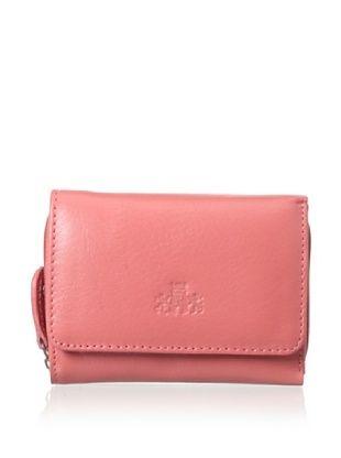 58% OFF Rowallan of Scotland Women's Carmen Tri-fold Wallet, Sugar Coral, One Size