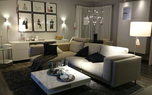 Let the guests come in ... Let the party begin.... Take a seat on NOCKEBY Sofa